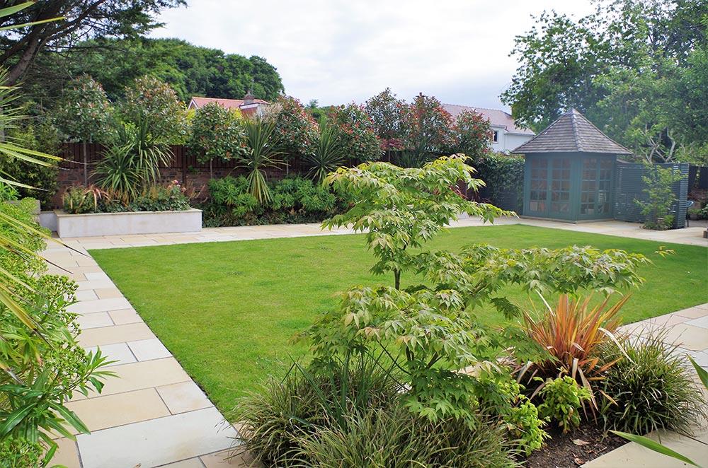 Formal garden in Ayr, Scotland | Jeremy Needham Garden Designs