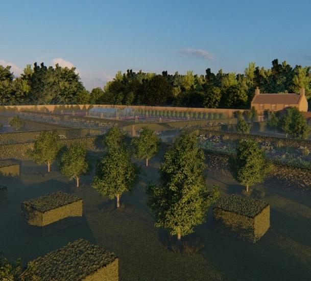 Castle garden design, Culzean
