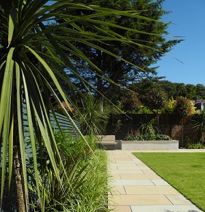 Large formal garden, Ayr