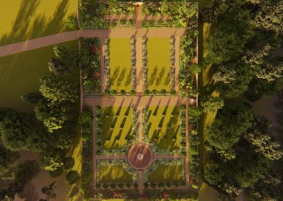 Brodick castle aerial preview