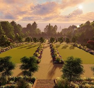 Brodick Castle Walled Garden (Design Preview)